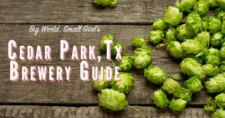 cedar park brewery guide