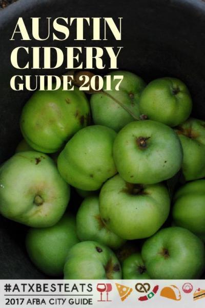 austin cider guide