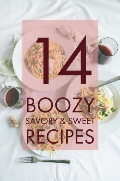 recipes with booze