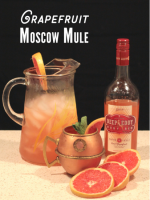 grapefruit moscow mule cocktail recipe
