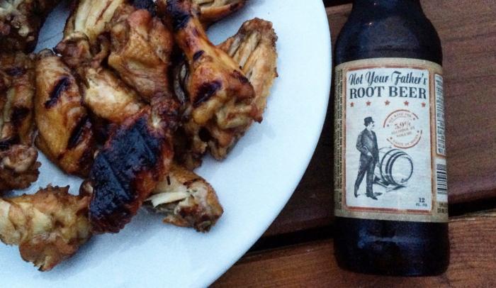 root beer wings