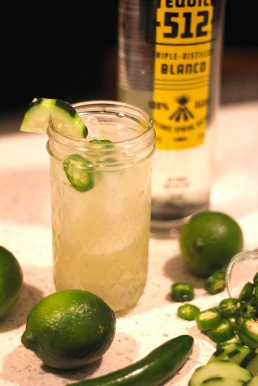 spicy margarita cocktail recipe