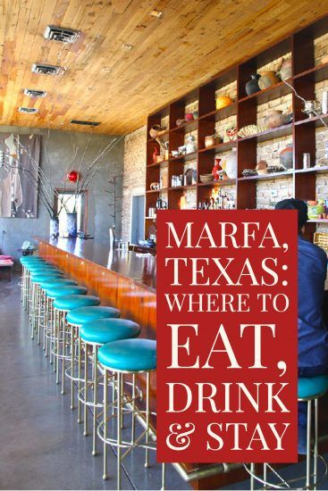 marfa where to eat