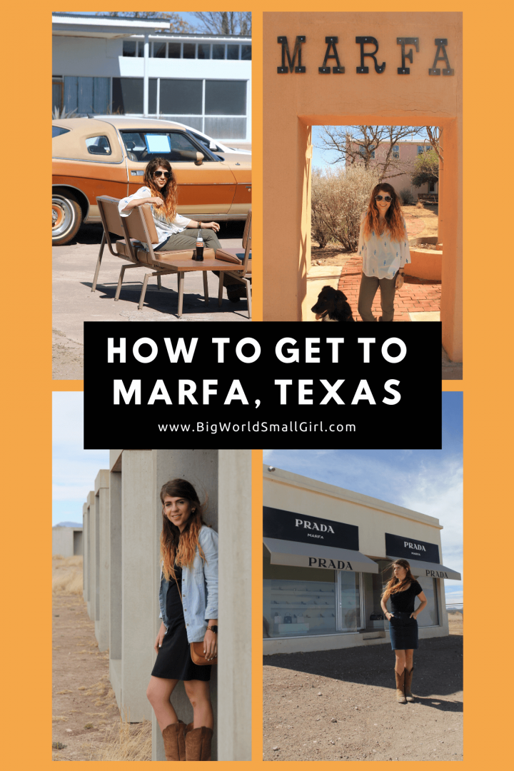 How to Get to Marfa Texas