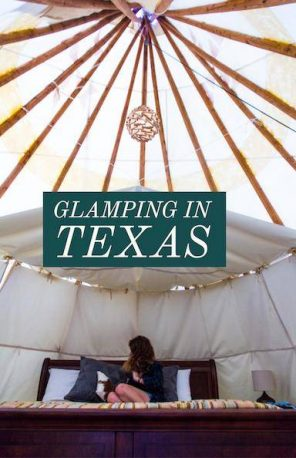 glamping in texas
