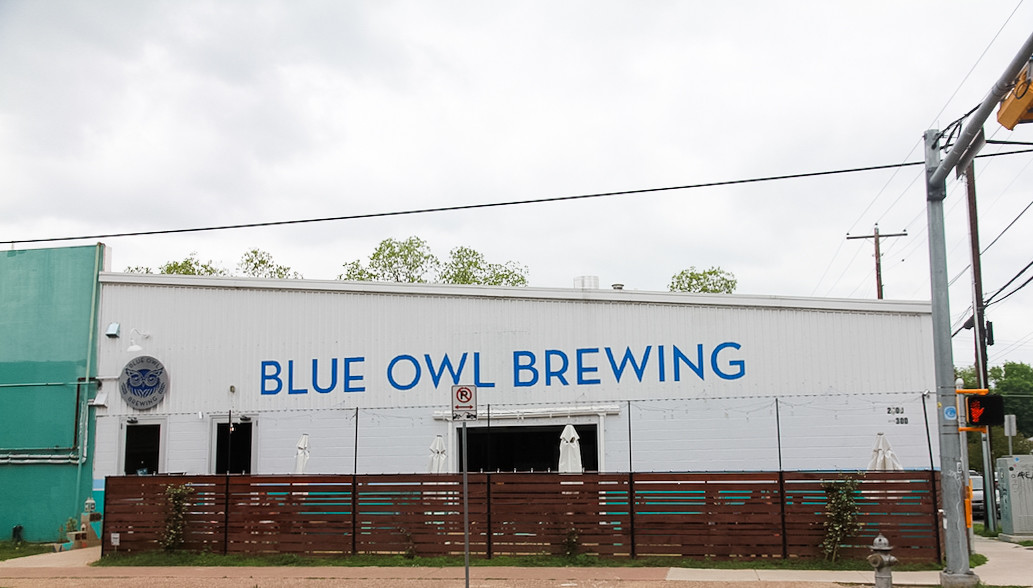 blue owl brewing taproom