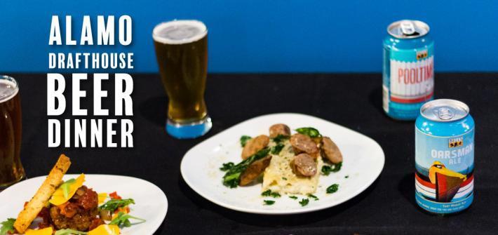 alamo beer dinner date night idea