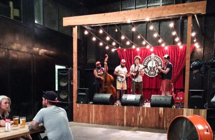 austin brewery live music