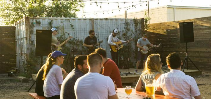 live music craft beer
