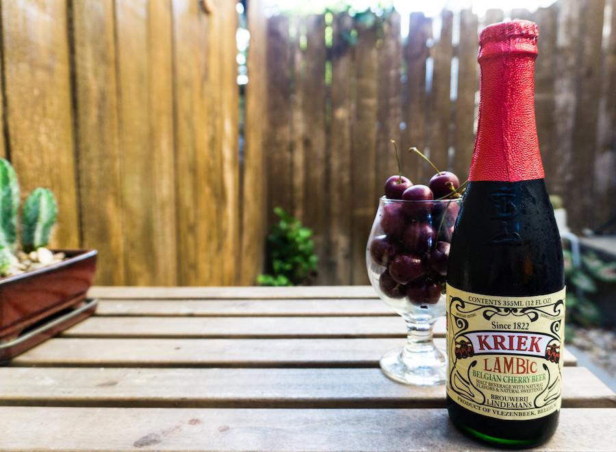 cherry lambic beer