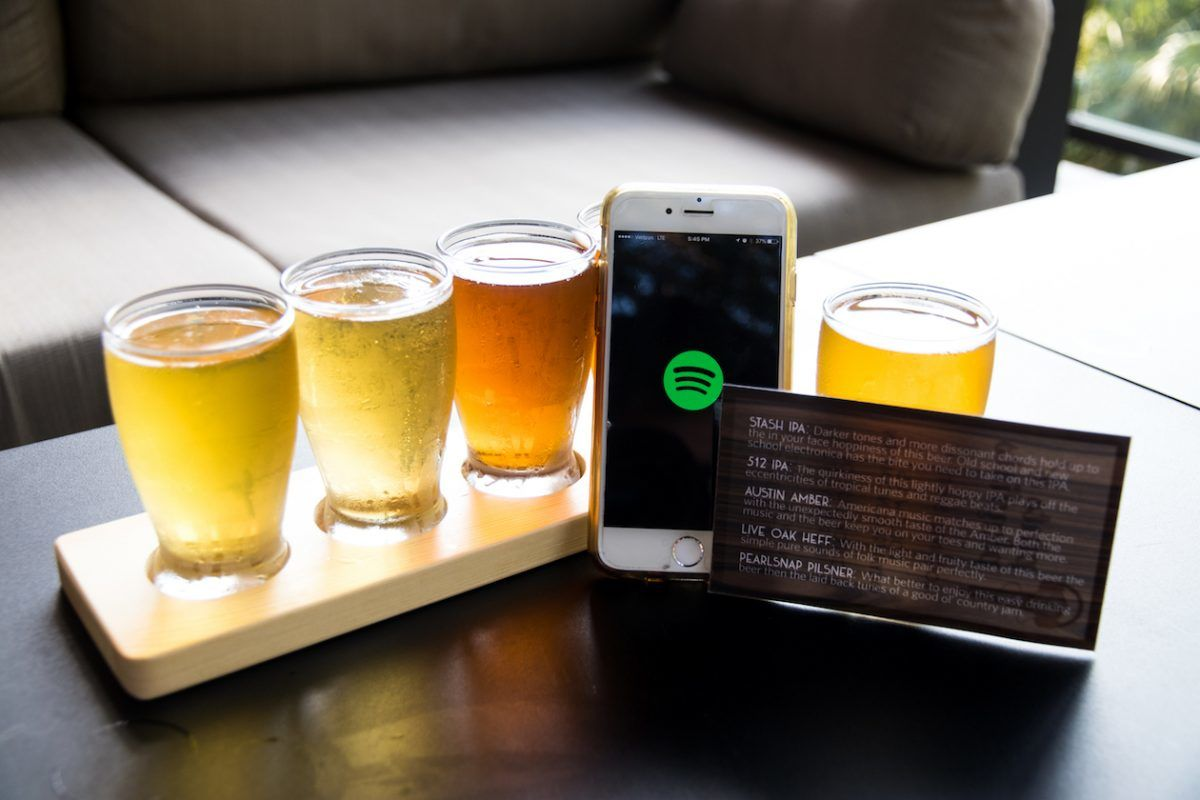 craft beer playlists