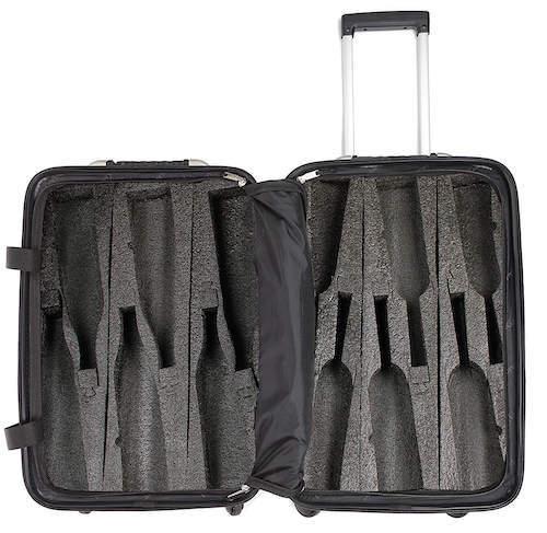 Wine Travel Suitcase