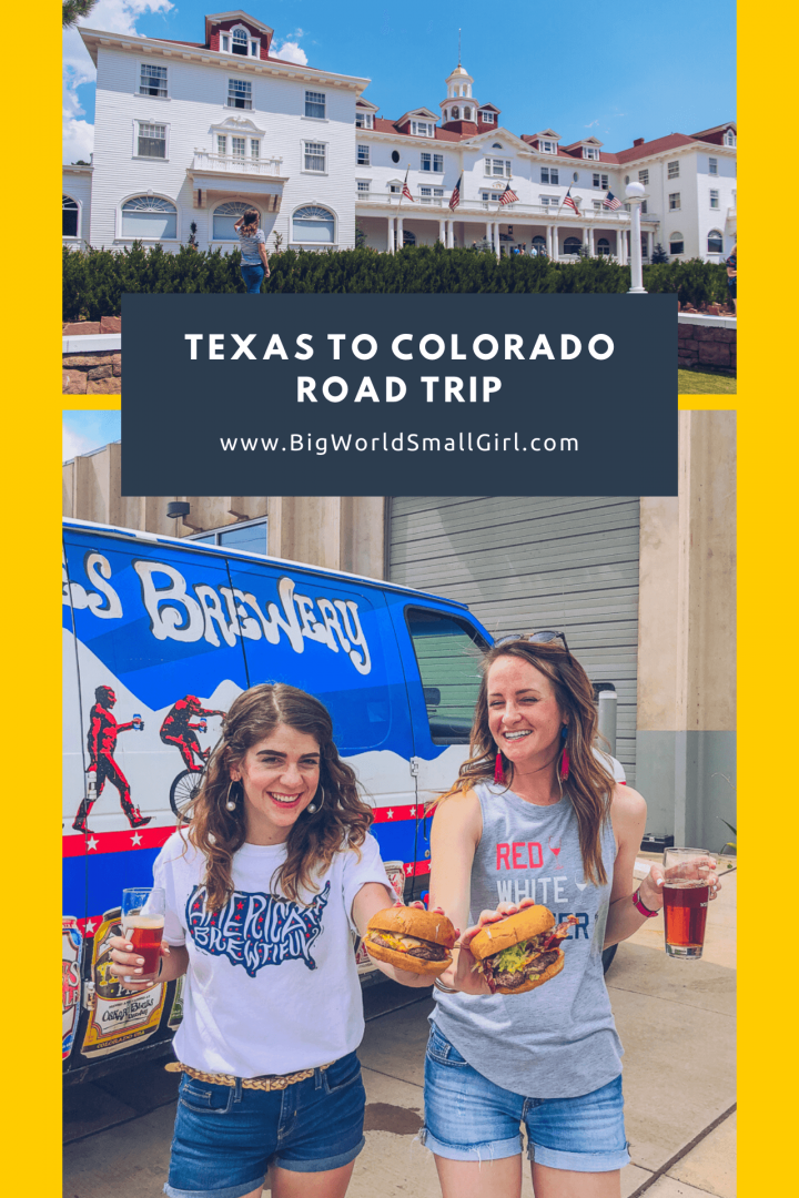 Texas to Colorado Road Trip