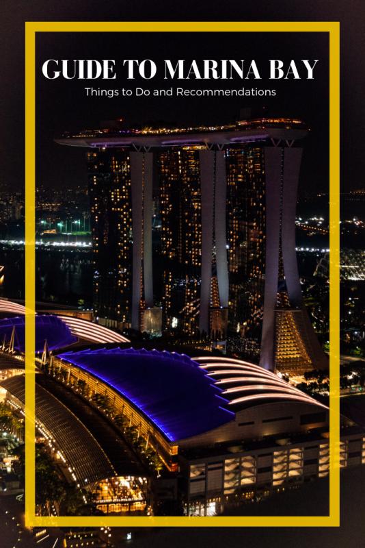 Marina bay singapore travel guide
