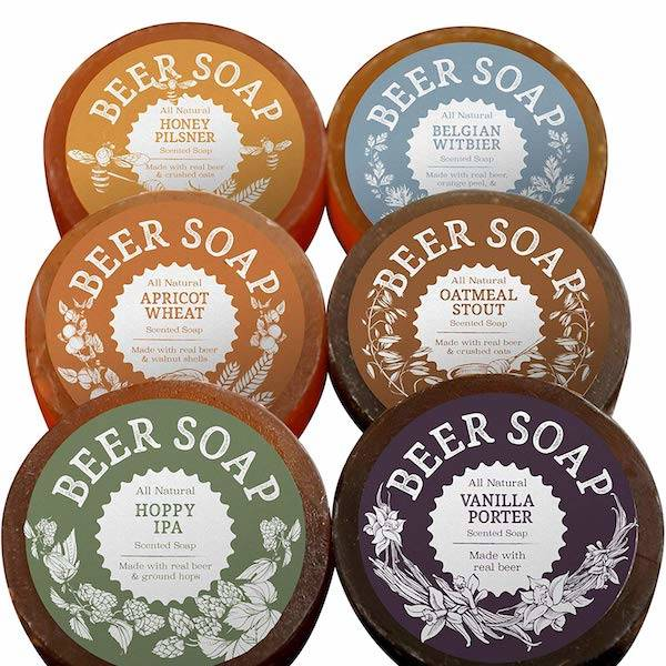 craft beer soap