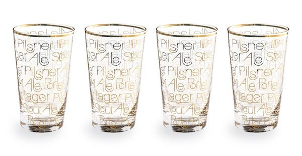 pint beer glasses