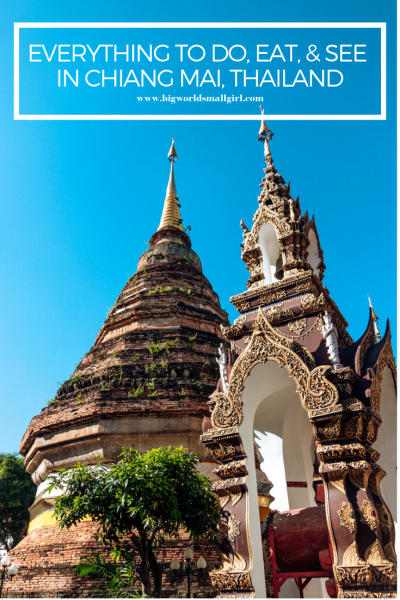 Everything to Do, Eat, & See in Chiang Mai, Thailand