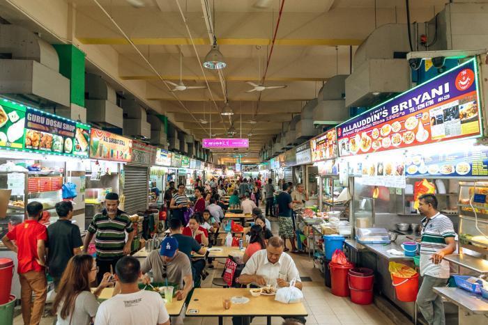 Singapore Hawker Centre