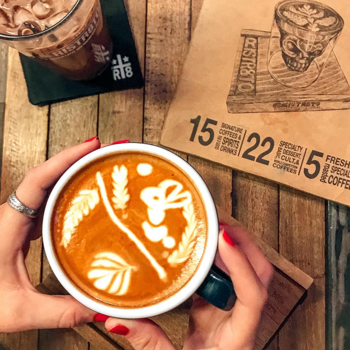 Ristr8to Lab latte art