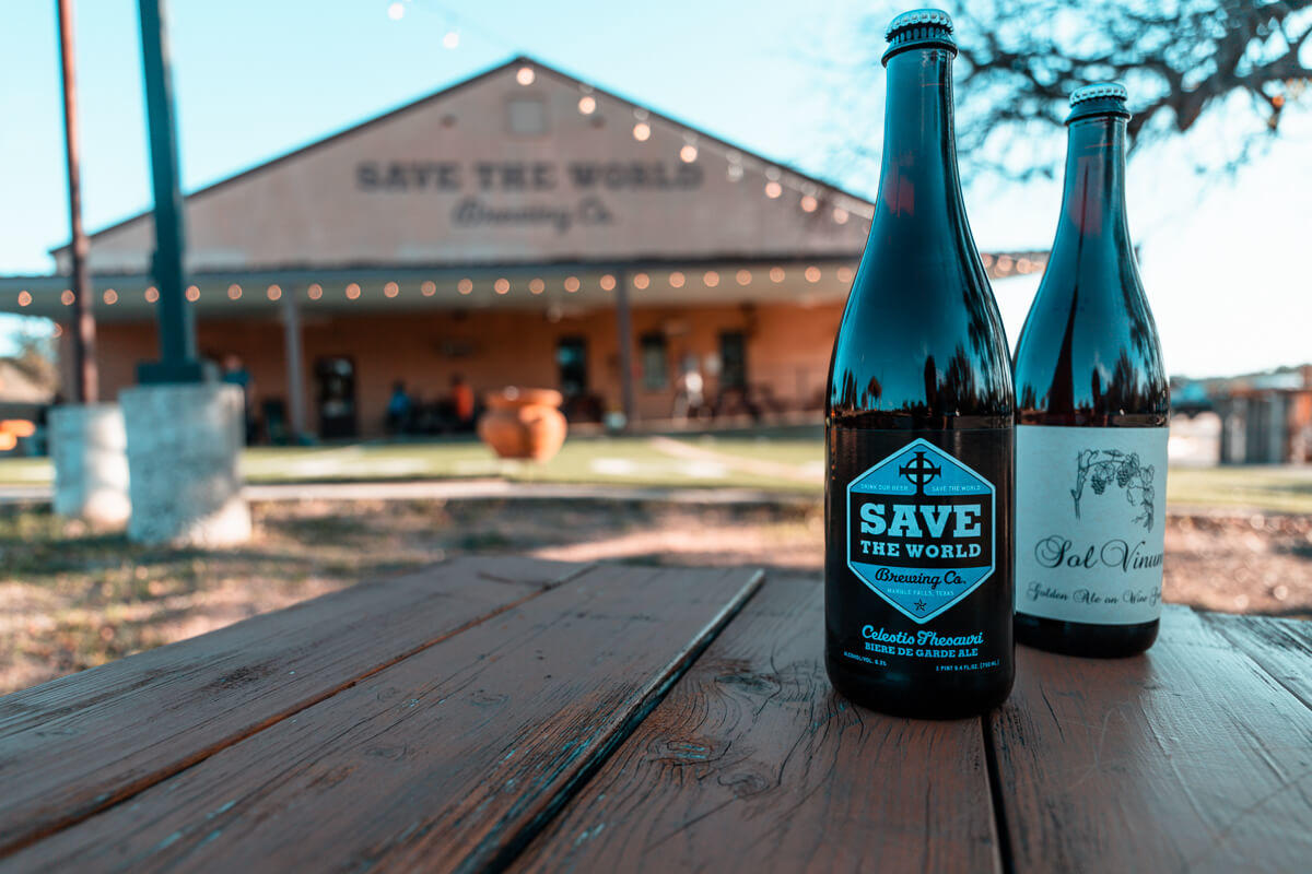 save the world brewing