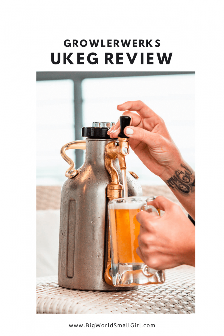 GrowlerWerks uKeg Pressurized Growler for Beer Pressurized Growler for Beer Review 2020