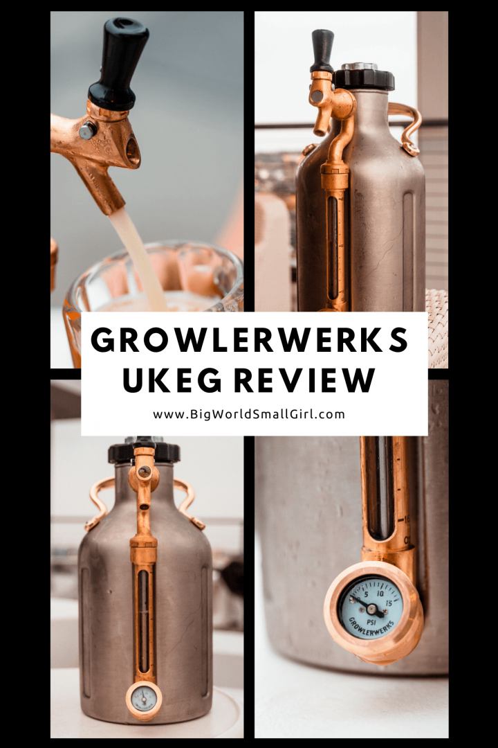 GrowlerWerks uKeg Pressurized Growler for Beer Review Pressurized Growler for Beer