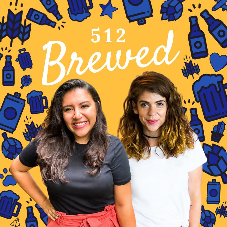 512 brewed craft beer podcast logo