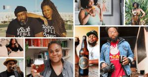 black people in beer