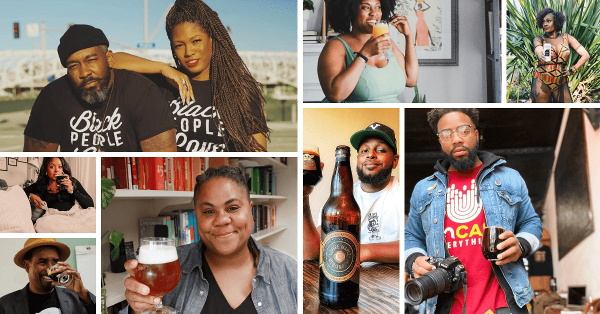 black people in beer