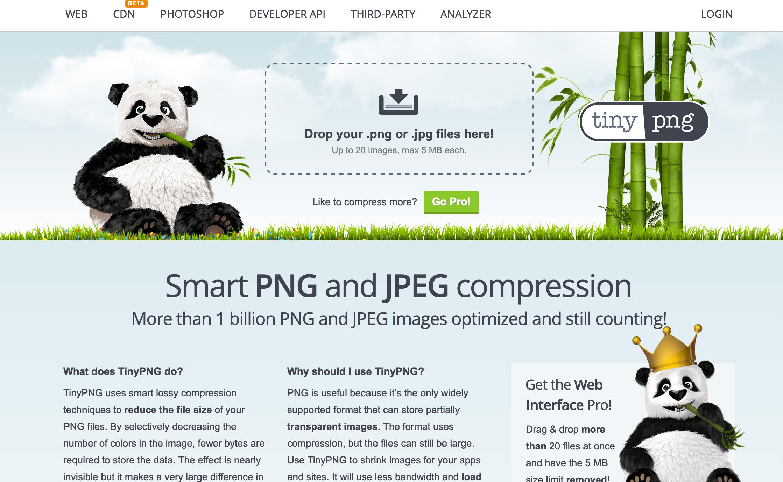 tinypng image optimization
