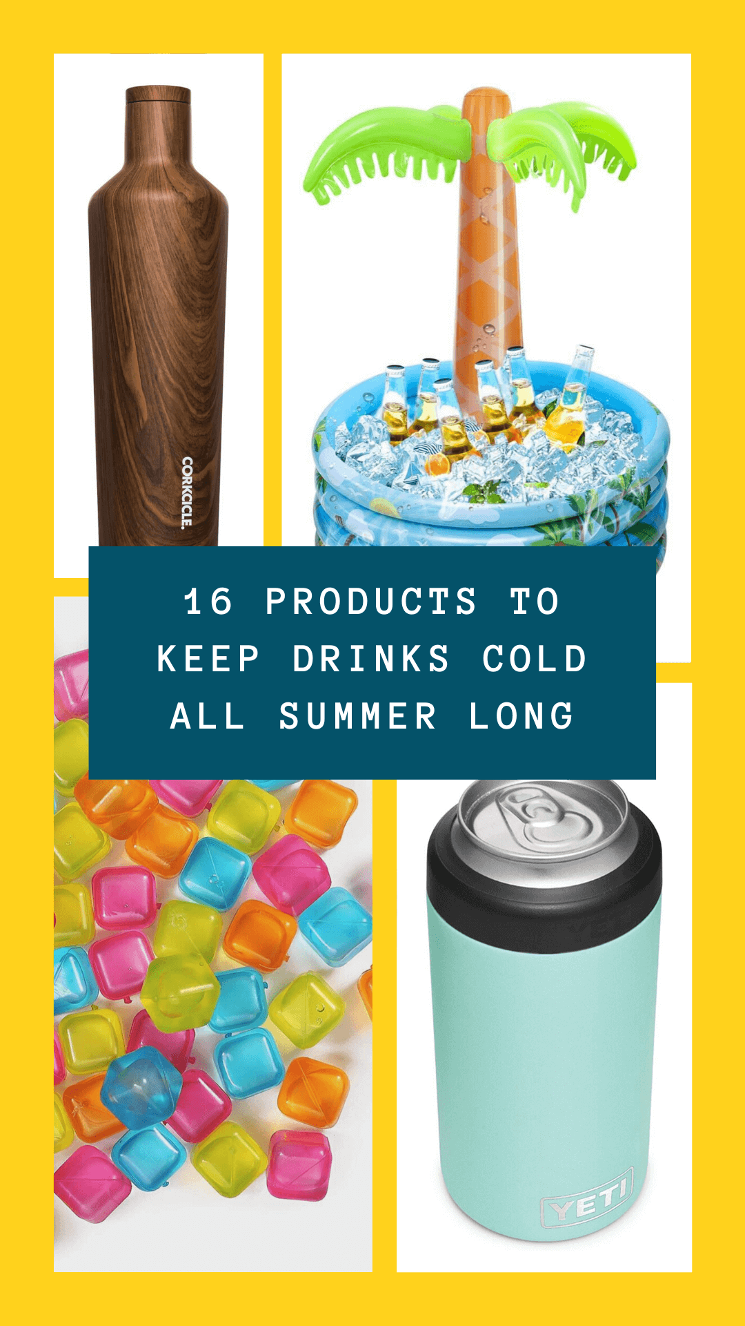 products to Keep drinks cold