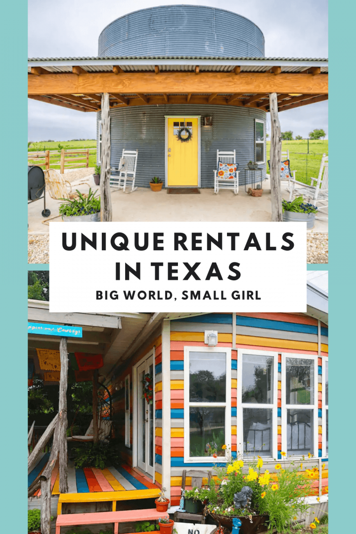 most unique airbnbs texas