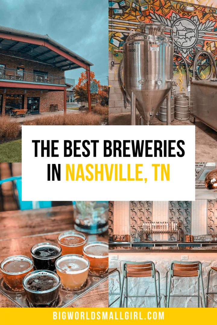 The Best Nashville Breweries