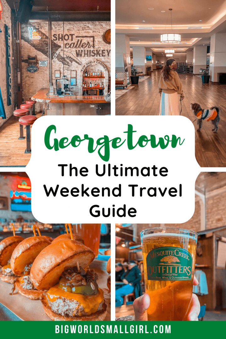 The Ultimate Georgetown Travel Guide