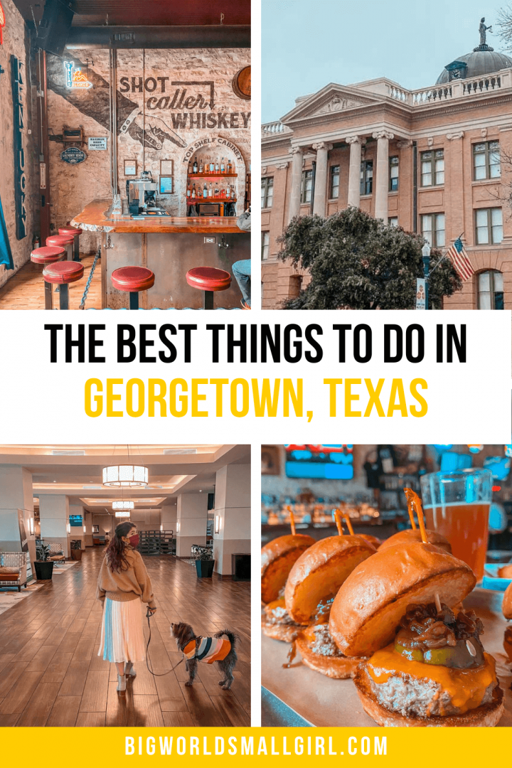 The Best Things to Do in Georgetown Tx
