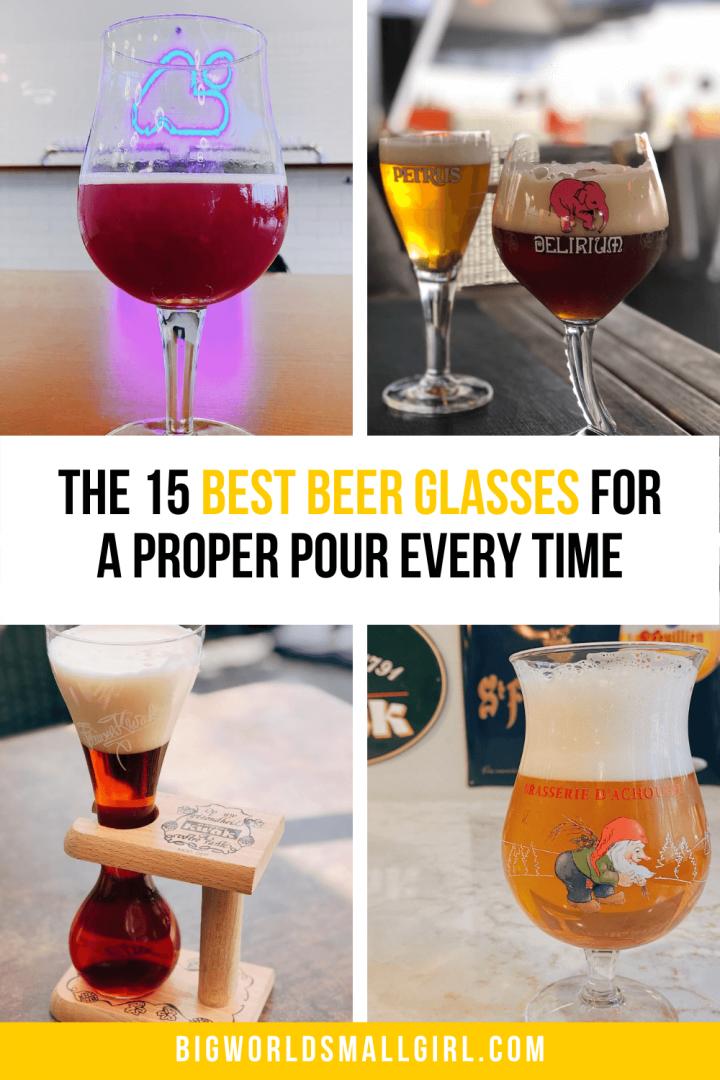 Beer Glassware Guide