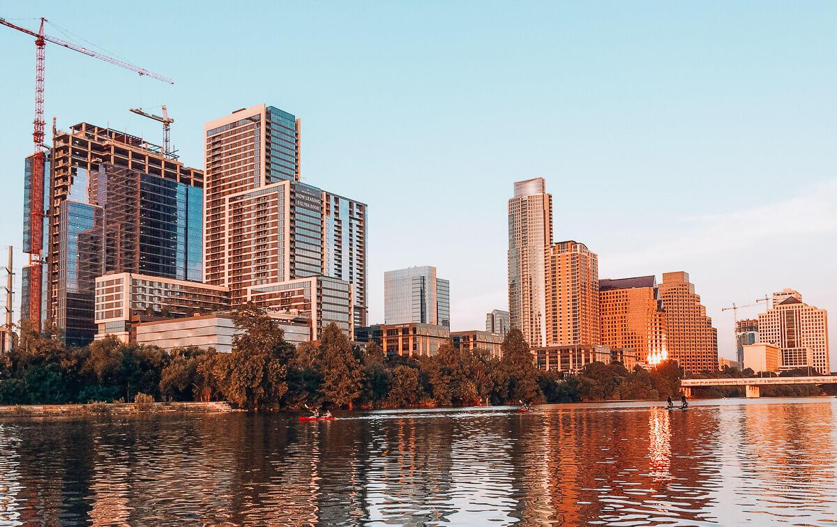 Picnics in Austin Skyline